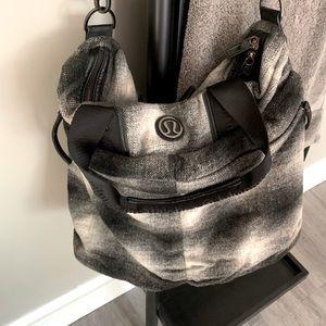 Lululemon Large Wool Messenger Bag